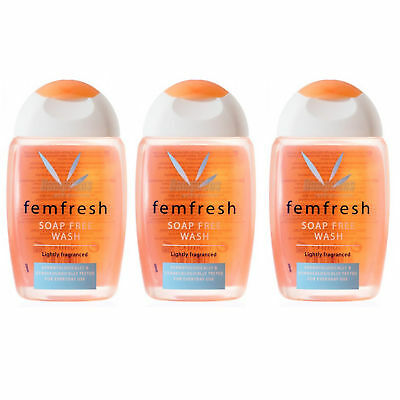 Femfresh Daily Intimate Hygiene Wash Soap Free 150ml X3 TRIPLE PACK