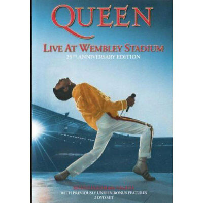 Queen: The DVD Collection - Live at Wembley Stadium (2 DVD) NEW (Region 4)