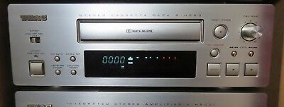 TEAC R-H500 REFERENCE 500 Auto-Reverse Stereo Cassette Deck  Boxed  User  Manual