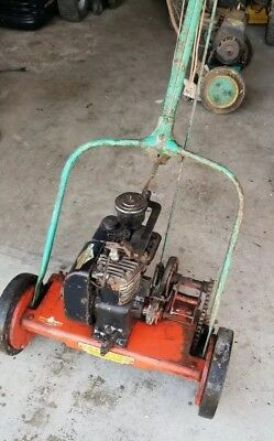 Vintage Lawn Mowers Lot of 2 Briggs And Stratton FIRESTONE and EXCELLO 1950s