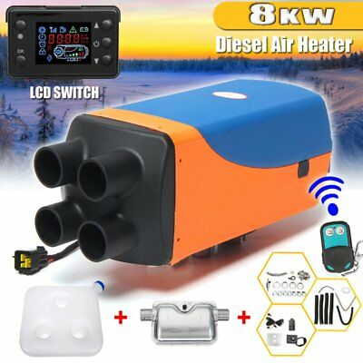 8000W LCD Air Diesel Heater PLANAR 8KW 12V for Car Truck Motor-Homes Boats BusC@
