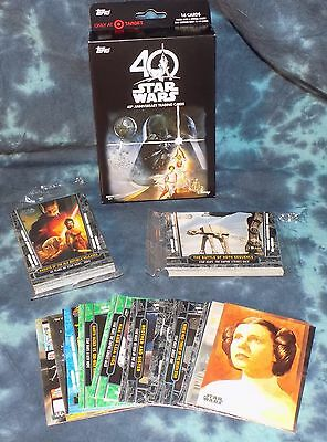 2017 Topps Star Wars 40th Anniversary CLASSIC Trading Cards - Total of 64 - NEW!