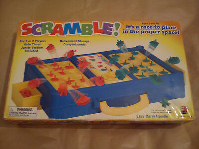 Scramble 2 Player By Hilco Perfection Game All Pieces Present Kids Games Toys