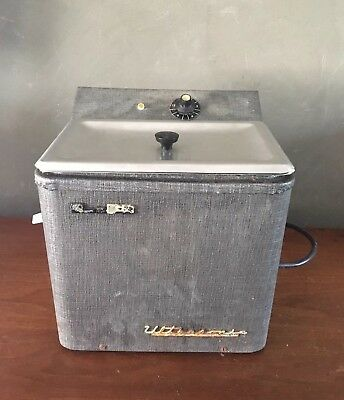 Vintage L&R Electric Ultrasonic Cleaner Sterilizer Model LU For Dental Jewelry