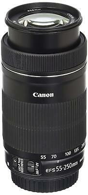 USA Canon EF-S 55-250mm F4-5.6 IS STM Lens for Canon SLR Cameras