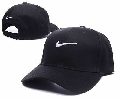 Nike Baseball Hat Cap Black White Brand New Unisex One Size Adults Free PP SALE