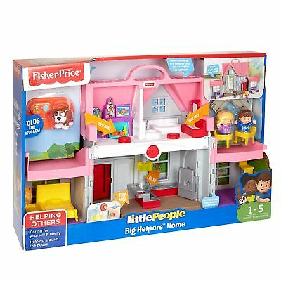 Fisher Price Little People Big Helpers Home Doll House Toy Figures
