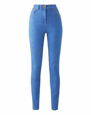 New Simply Be Womens Lucy High Waisted Super Soft Skinny Jeans