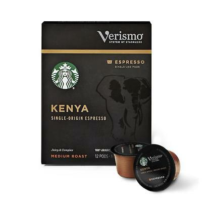 72~Starbucks~Verismo~Kenya~Medium~Roast~Espresso~Single-Use~Pods BBD 11/2018