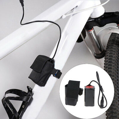 Fashion 6400mAh 18650 8.4v Rechargeable battery Pack For Bike Bicycle Light GY