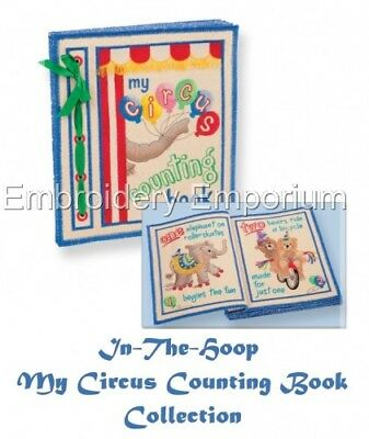 My Circus Counting Book Collection - Machine Embroidery Designs On Cd Or Usb