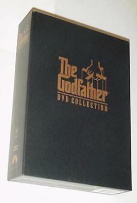 Godfather DVD Collection All 3 Movies plus 3 HRS EXTRAS The Deniro Pacino Brando