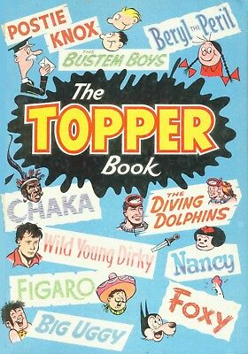 Uk Comics The Topper Book Collection Of Humour Annuals From 1950S-1990S On Dvd