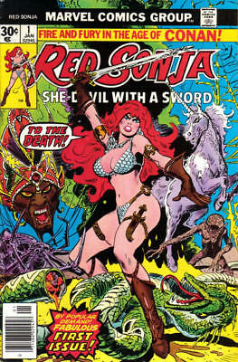 US COMICS RED SONJA SHE-DEVIL WITH A SWORD 1970s-80s COLLECTION ON DVD