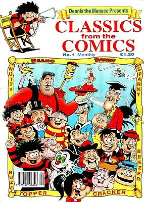 Uk Comics Classics From The Comics Digital Collection On Dvd Beano Dandy Nutty