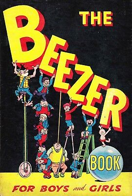 Uk Comics The Beezer Book Collection Of Humour Annuals From 1950S-2000S On Dvd