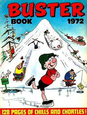 Uk Comics Buster Books Digital Collection Of Humour Annuals On Dvd