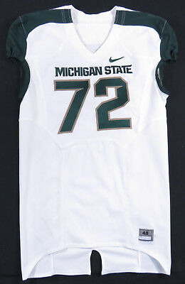 Jason Diehl Michigan State Spartans Nike Team Issued Authentic Football  Jersey c8d4d3748