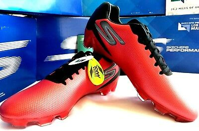 9973b92ba870 Skechers Performance Go Galaxy Soccer Cleat Red/ Black ret $75 FREE SHIPPING