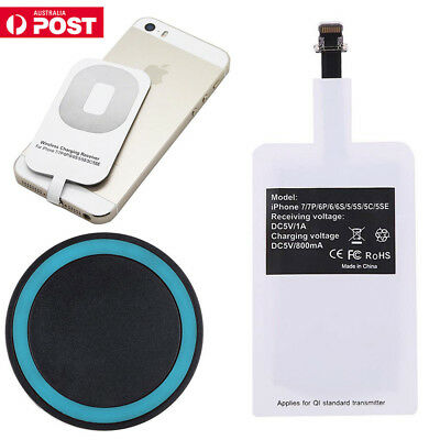 Qi Wireless Fast Charging Charger Dock Pad For iPhone 6 /6 plus/ iPhone 6/ 5S