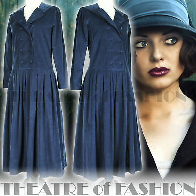 DRESS 20s 30s GATSBY 40s WEDDING VINTAGE LAURA ASHLEY 50s VICTORIAN SAILOR VAMP