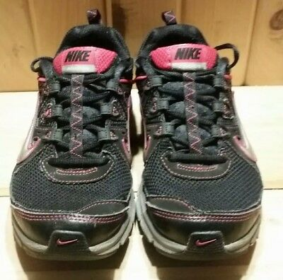 3fe22c180066 Nike Trail Running Shoes Womens size 7 Alvord 9 Black Pink Nike Sneakers