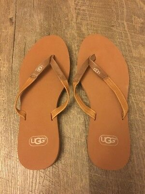 96a5967eb94 UGG WOMEN'S MAGNOLIA Flip Flop Chestnut 6 New No Box Smoke Free Home
