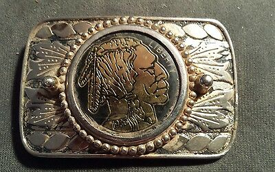 Buffalo Indian Head 1926 The Great American Belt Buckle Co 1979 Liberty Coin USA