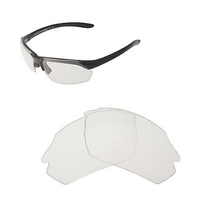 fd0aa0f733 Walleva Clear Non-Polarized Replacement Lenses For Smith Parallel Max  Sunglasses