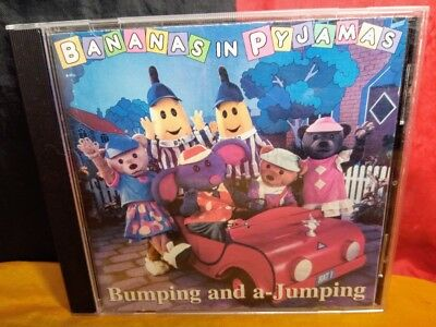Bumping and a-Jumping by Bananas in Pyjamas (CD, 1997, ABC For Kids)