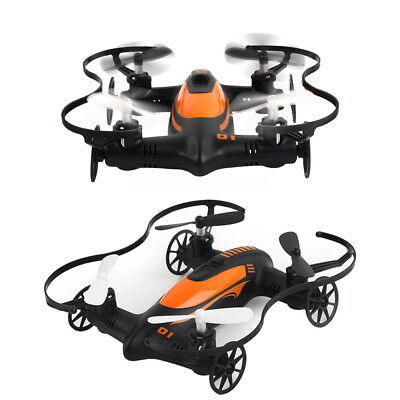 TK115 Mini Fly Car 2 in 1 Air & Ground 2.4G 4CH 6-axis Gyro RC Drone Quadcopter