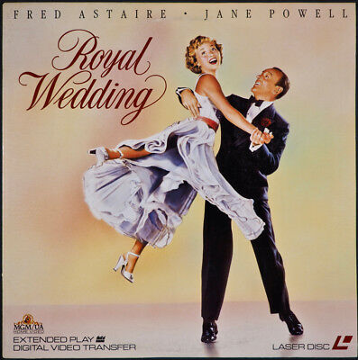 Royal Wedding Fred Astaire Jane Powell Laser Disc