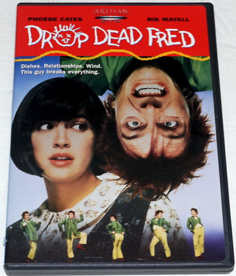 MINT DISC!! Drop Dead Fred (DVD, 2003) RARE Original release Region 1 R1 OOP