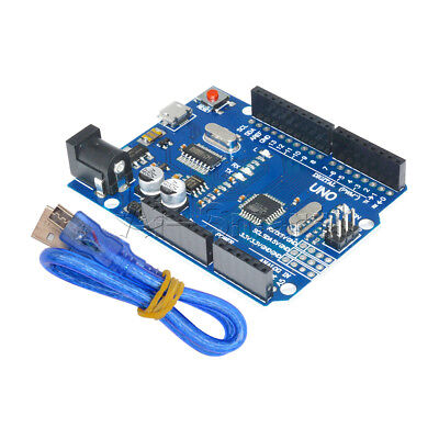 UNO R3 ATMEGA328P-16AU CH340G Micro USB With Cable Board For Arduino UK