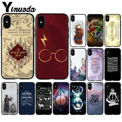 Harry Potter Hogwarts Phone Case for Apple iPhone X XS MAX 7 6 6S Plus 5 5S SE