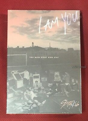 Stray Kids (I am YOU +I am WHO) Ltd CD+DVD+116P+2 Cards (Taiwan Special Edition)