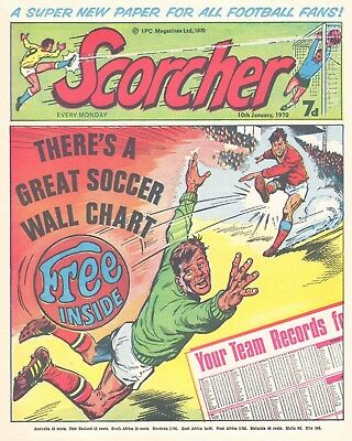 Scorcher And Score & Roar Digital Collection Of 250+ Uk Football Comics On Dvd