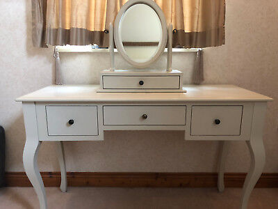 low priced 9bee6 8e071 LAURA ASHLEY ROSALIND Soft Ivory Dressing Table and Mirror