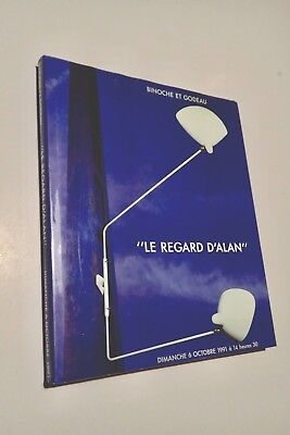Le regard d'ALAN 1991 catalogue design Jouve  Noll Mategot Prouvé Guariche