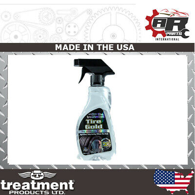 The Treatment TIRE GOLD Ultimate Wet Look High Gloss Long Lasting Tyre Shine SM