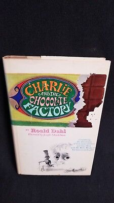 Vintage Charlie and the Chocolate Factory 1st Edition Revised1973 Roald Dahl