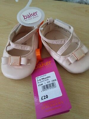 cffee3babfb0ec TED BAKER BABY Girls Shoes Booties 3-6 Months New - £14.99