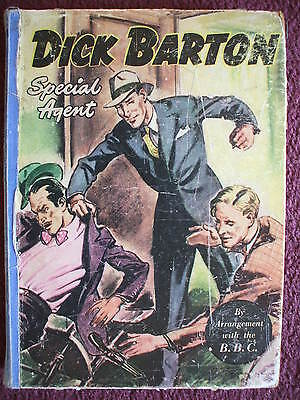 Dick Barton Special Agent Annual 1951 ?  Good Condition For Year