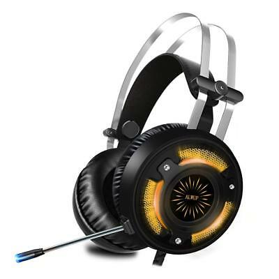 ALWUP A6 Gaming Headset Stereo  Game Headphone For PS4 Xbox One PC with Mic