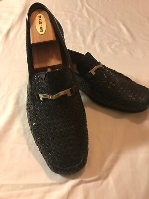 9bb68eee489 Bruno Magli Basket Weave Horse Bit Mens Shoes size 12