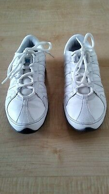 05b1538b2a5c91 NIKE 324751-141 MUSIQUE IV Women White Leather Dance Sneaker Shoe sz 7.5