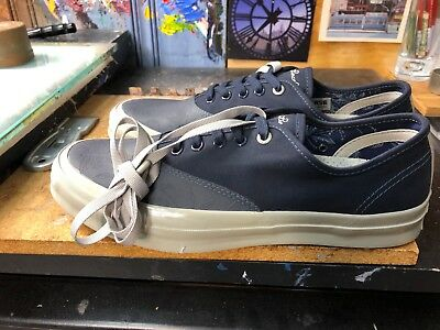 6f9812d91f1 Converse Jack Purcell X Hancock Signature CVO OX Navy Size US 10.5 Men s  153066C