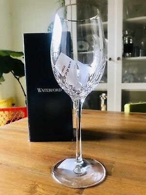 Brand New In Box* WATERFORD Crystal Lismore Essence Platinum Wine Glass