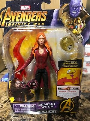 Marvel Avengers Infinity War Scarlet Witch Captain Am Gamora Marvels Falcon, 6in