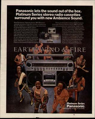 1981 Earth Wind & Fire In A Panasonic Ad